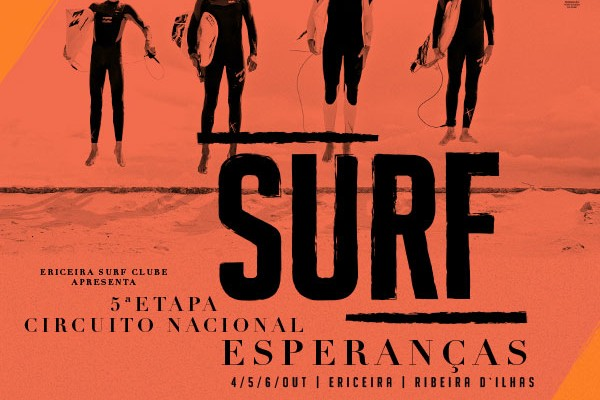 Poster da 5ª Etapa do Circuito Nacional de Surf Esperanças