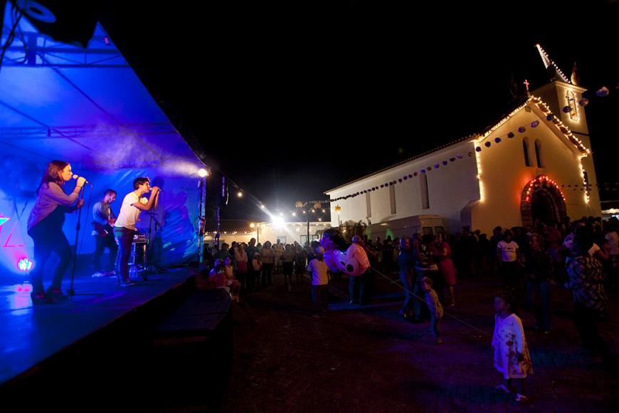 A música não faltou à festa. - ph. José Guerra