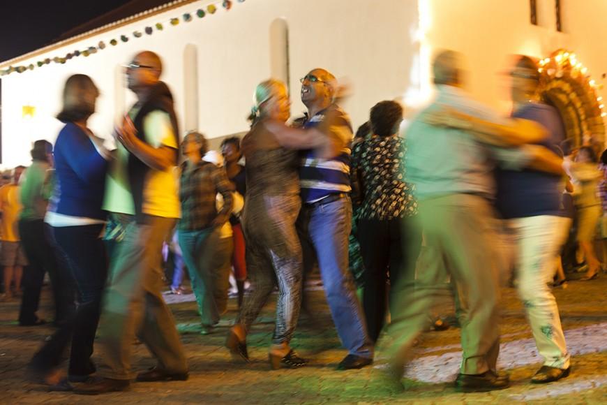 Um pézinho de dança. - ph. José Guerra