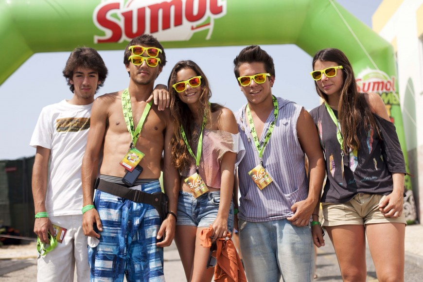 O Sumol Summer Fest marca o arranque do Verão. - ph. José Guerra