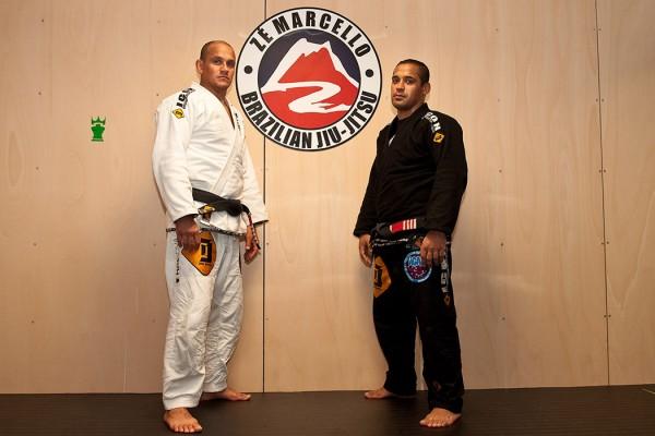 Zé Marcello (esquerda) e o seu sócio Alexandre. - ph. Mauro Mota