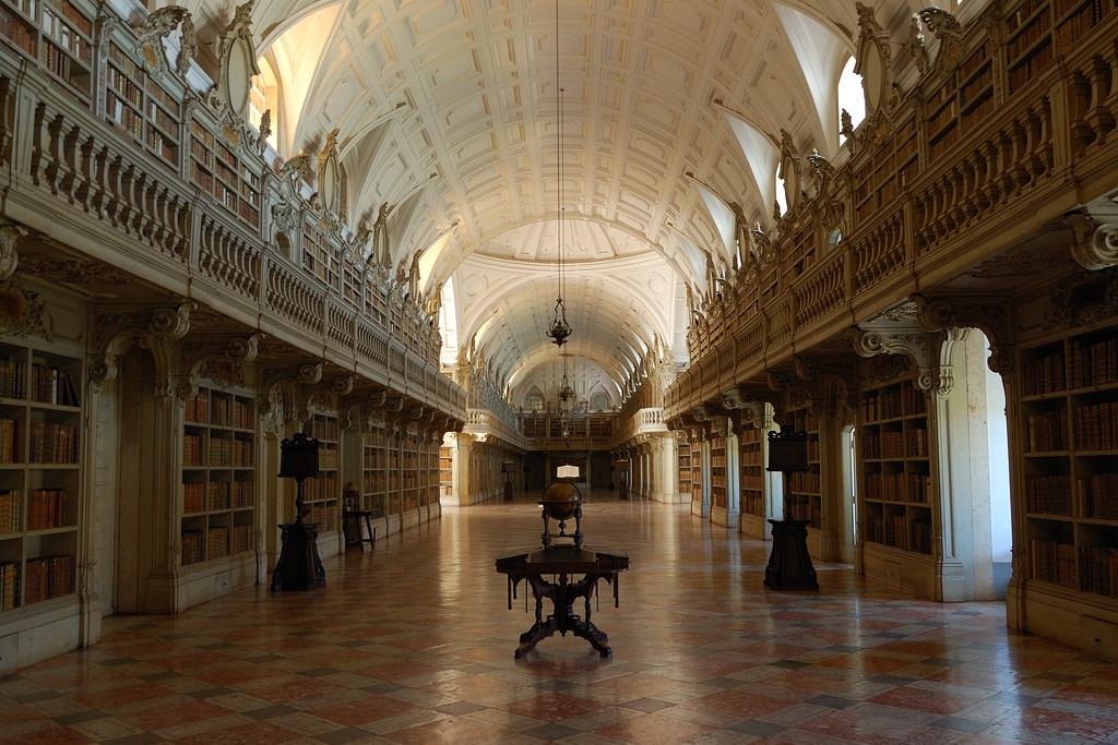 Biblioteca Palácio Nacional de Mafra