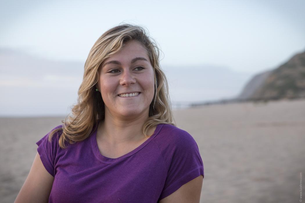 Carina Duarte traz experiências de novas culturas para o seu surf. - ph. Luís Firmo