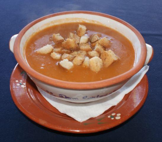 Sopa de Marisco.
