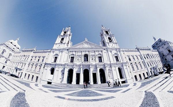 Palácio Nacional de Mafra. - ph. Nélson Cruz