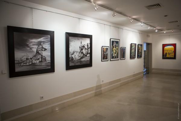 Surrealismo Português do Século XXI - Ericeira - Casa da Cultura. - ph. Luís Firmo