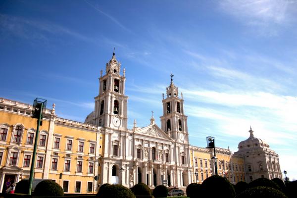 Palácio de Mafra. - ph. António Almeida
