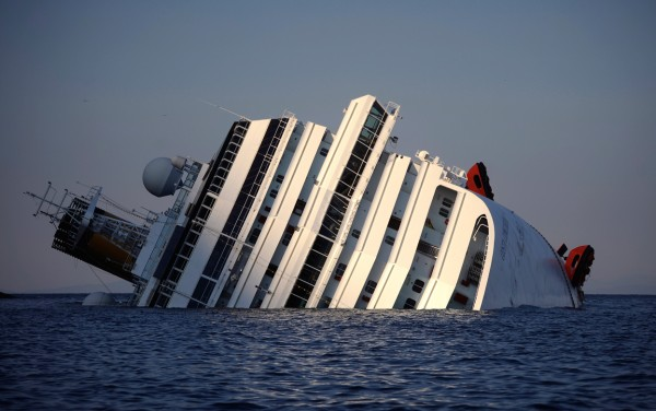 Costa Concordia. - ph. Filippo Monteforte/AFP/Getty Images