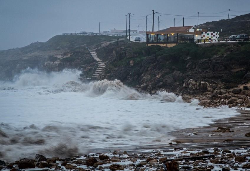 Tempestade Hércules Julião. - ph Luís Rodrigues