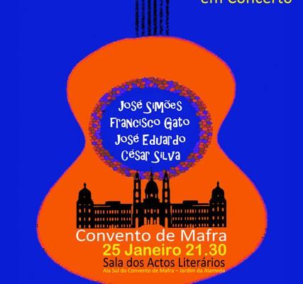 As Guitarras em Concerto. - ph. DR