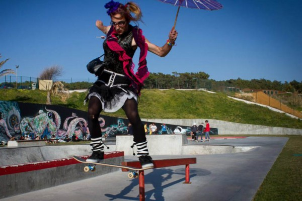 Carnaval Skatepark 2012. - ph. Rui Oliveira
