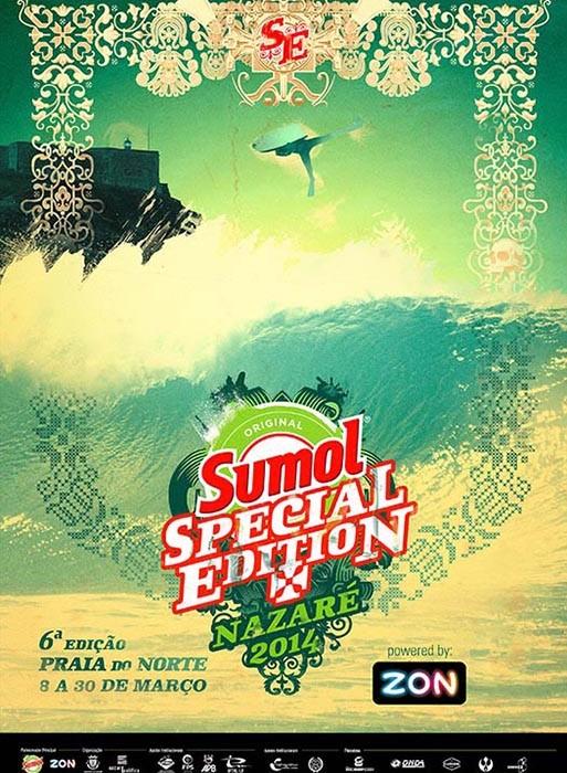 Sumol Nazaré Special Edition 2014. - ph. DR