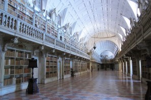 Mafra Palace's Library is one of the most enchanted according to National Geographic