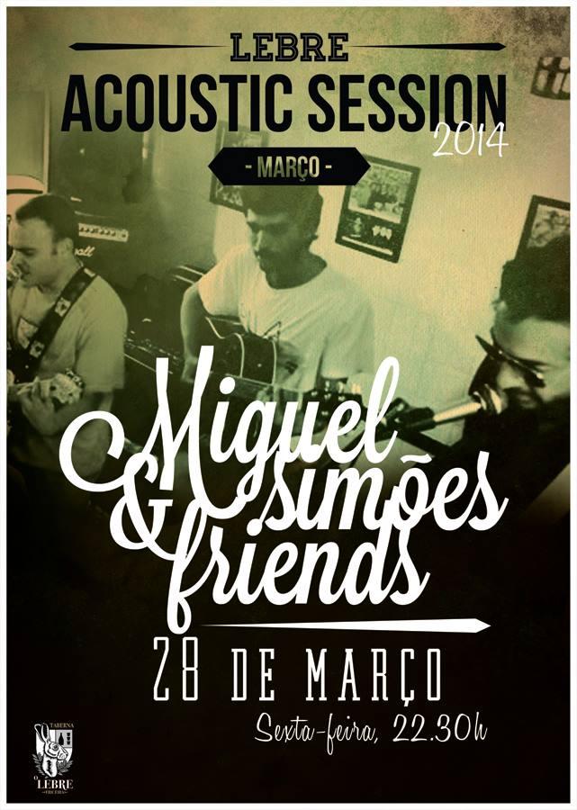 Miguel Simões Acoustic Session Lebre. - ph. DR
