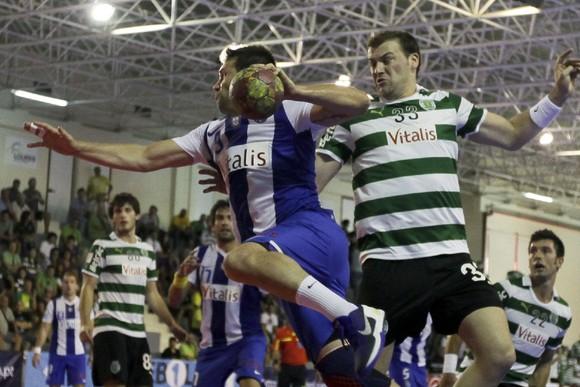 Sporting Porto Andebol 2014. - ph. Manuel de Almeida/LUSA
