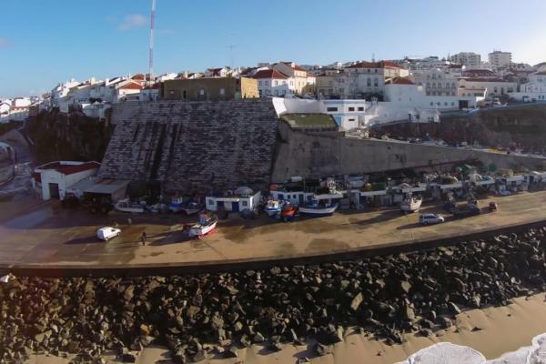 Drone Praia dos Pescadores. - ph. Afonso da Costa Lopes