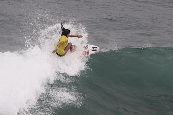 Teresa Bonvalot no ISA World Junior Surfing Championship 2014. - ph. DR