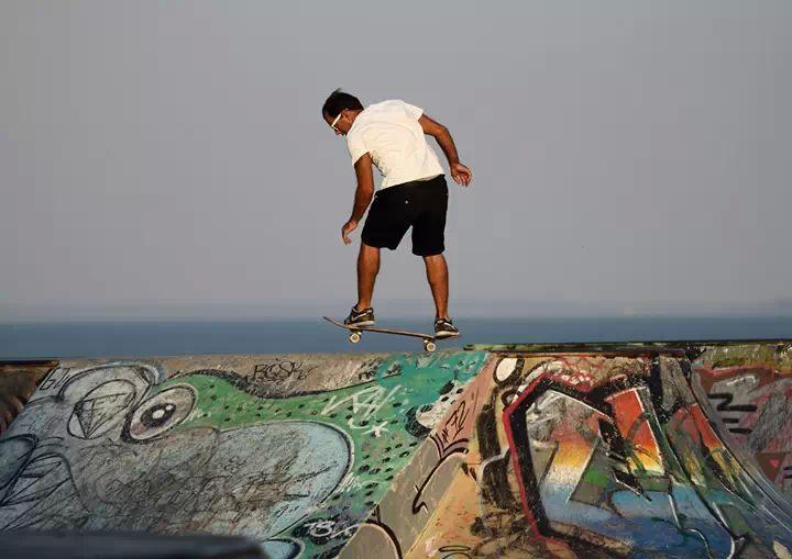 Skate. - ph. Nuno Dinis