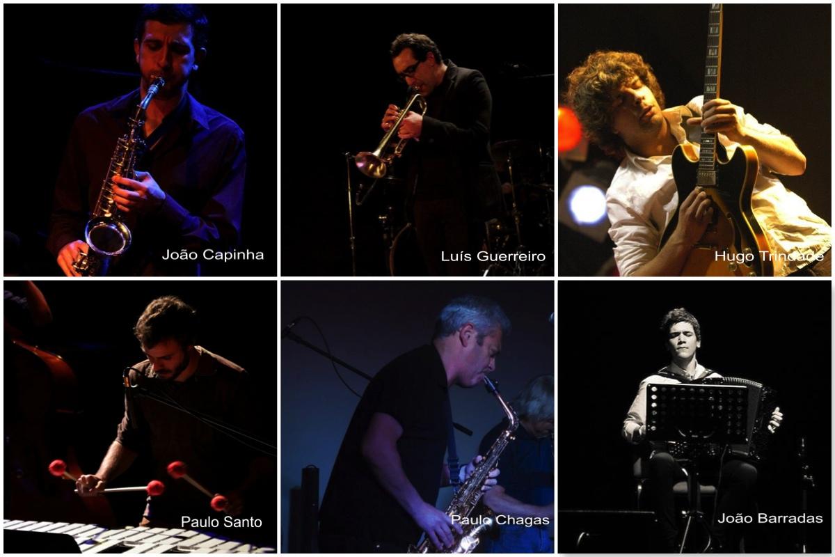 Músicos da 1ª edição do jazz@copo na Ericeira. - ph. DR
