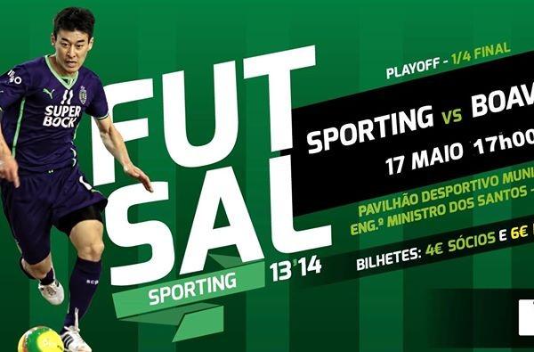 Sporting - Boavista Futsal. - ph. DR
