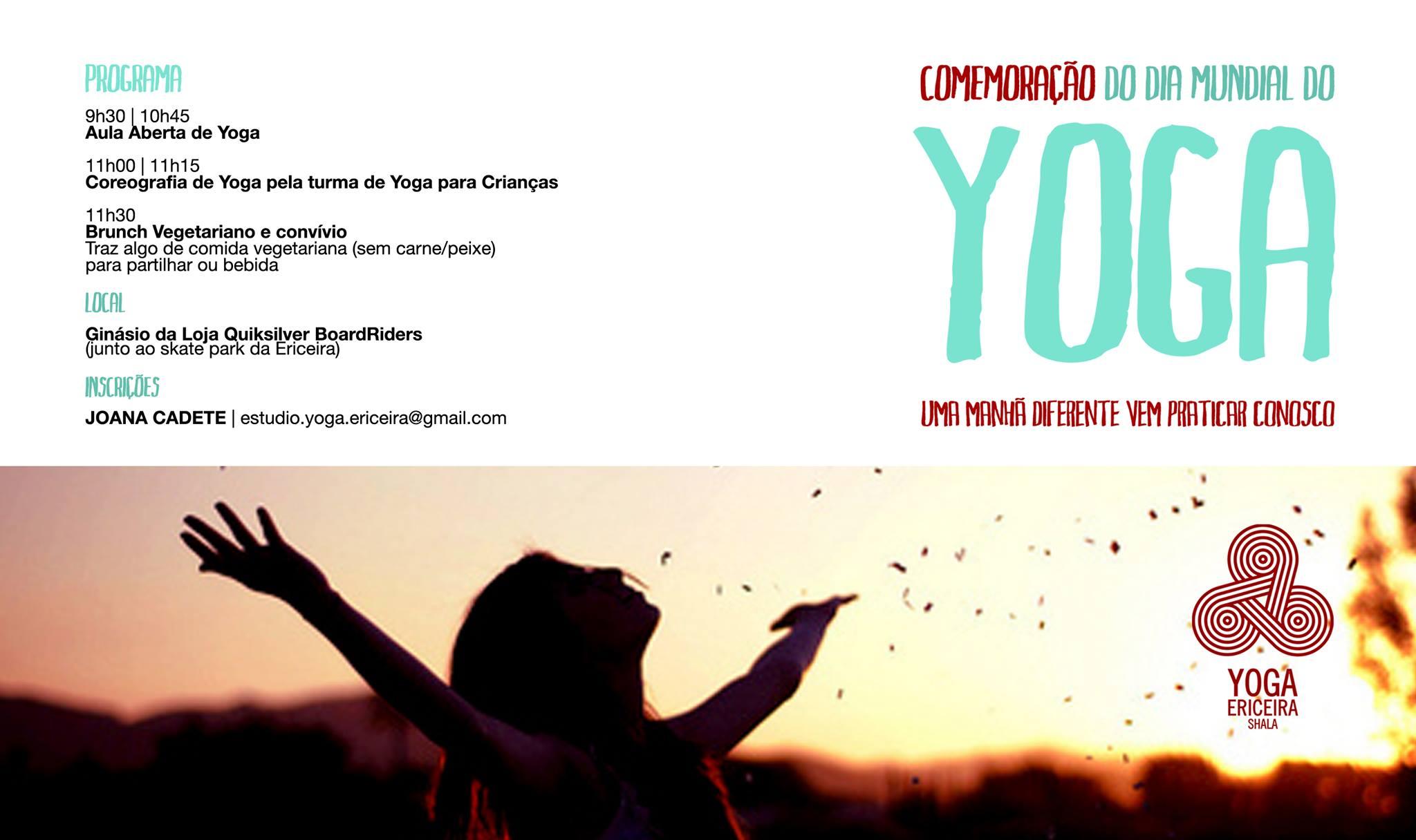 Dia Mundial do Yoga. - ph. DR