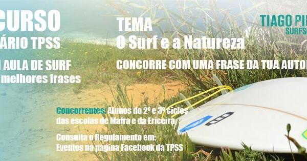 Concurso Tiago Pires Surf School. - ph. DR