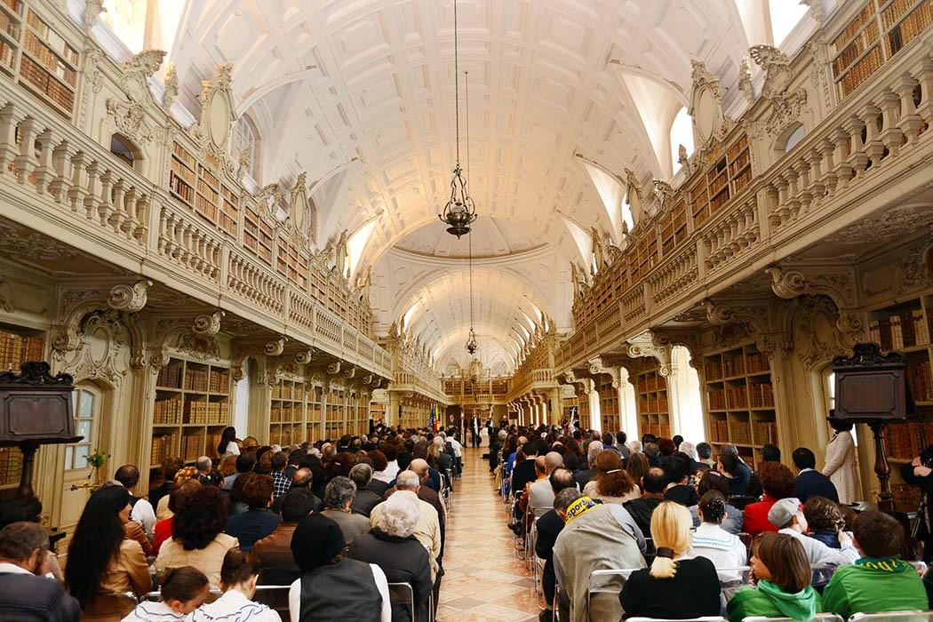 Biblioteca de Mafra. - ph. DR