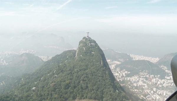Tiago Pires no Brasil. - ph. DR