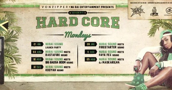 Hardcore Mondays Ouriço. - ph. DR