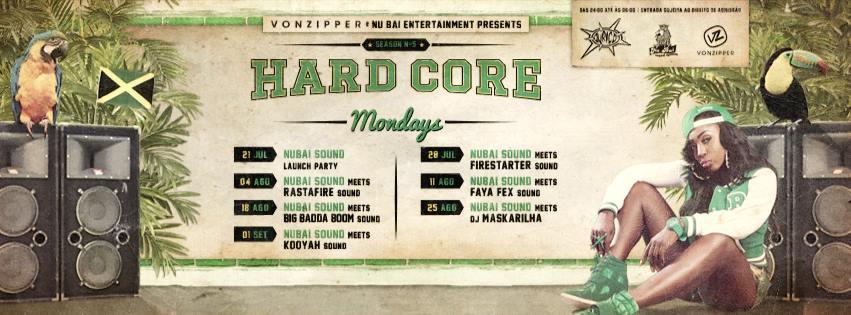 Hardcore Mondays Ouriço. - ph. DR