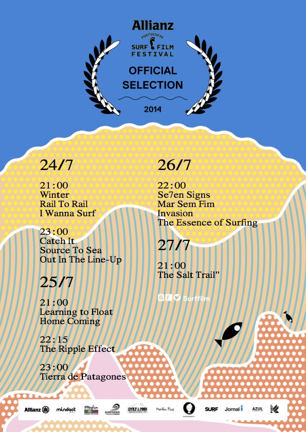 Allianz Portuguese Surf Film Festival 2014. - ph. DR