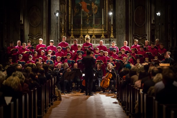 The London Oratory Chamber Choir. - ph. Charles Cole