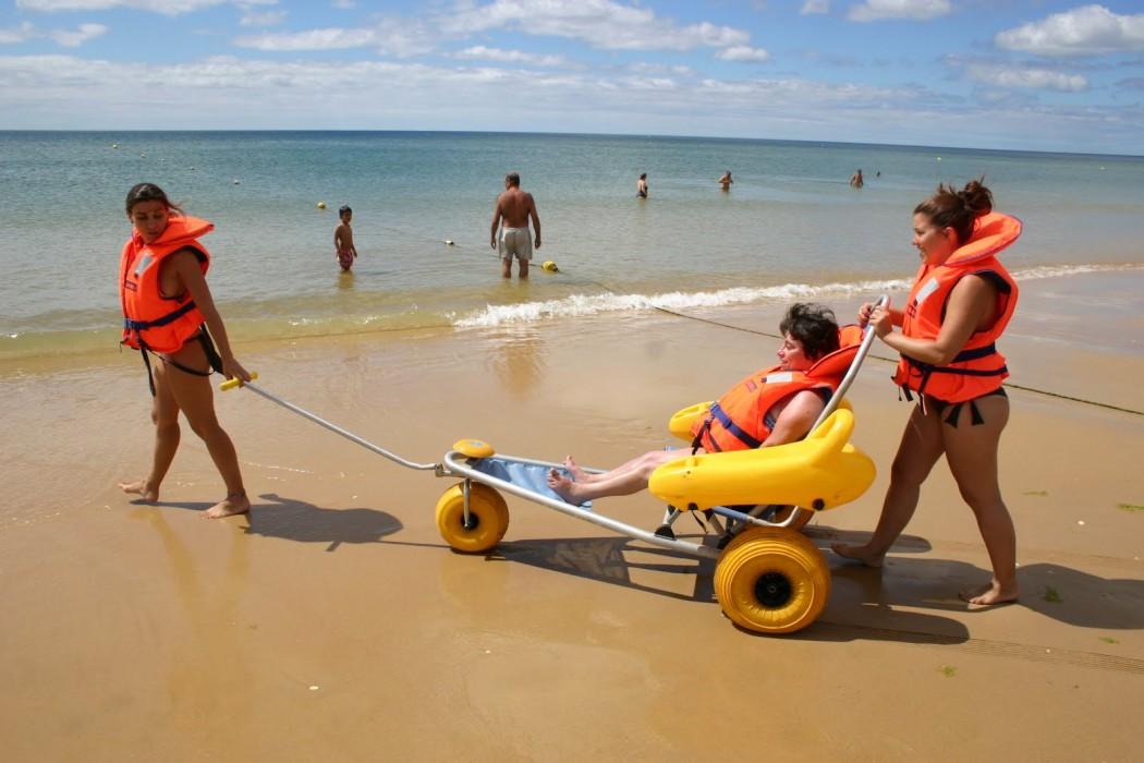 Praia Acessível, Praia para Todos 2014. - ph. DR