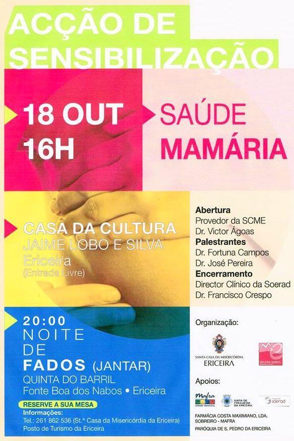 Acção Sensibilização Cancro Mama 2014. - ph. DR