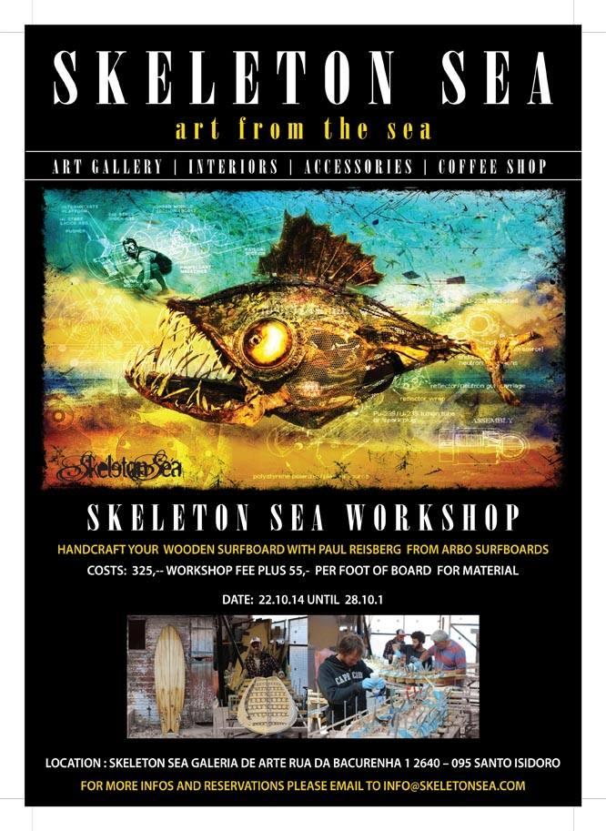 Wooden Boards Workshop Skeleton Sea 2014. - ph. DR