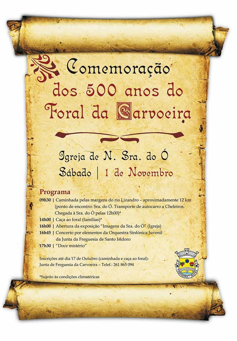 500 Anos Foral Carvoeira 2014. - ph. DR