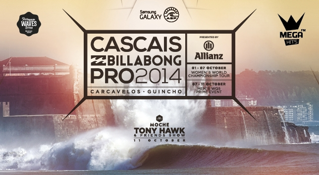 Cascais Billabong Pro 2014. - ph. DR