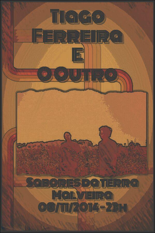 Tiago Ferreira e O Outro Malveira 2014. - ph. DR