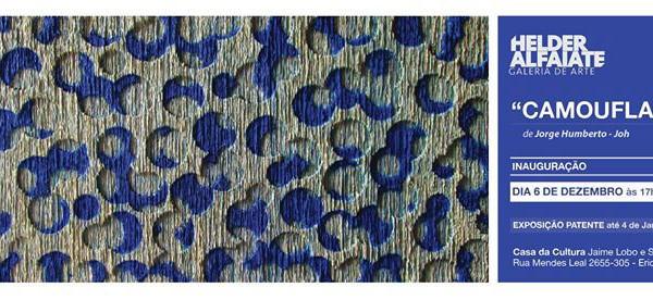 Exposição Camouflage Jorge Humberto. - ph. DR