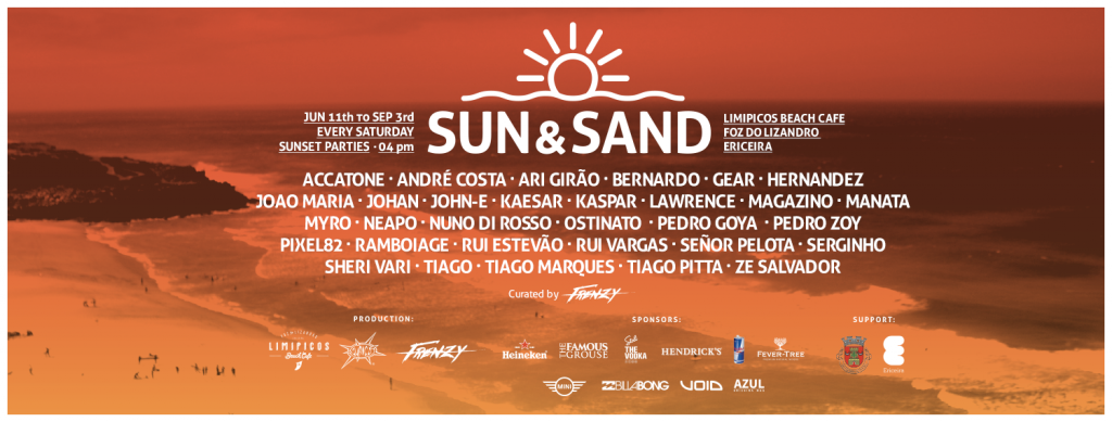Cartaz Sun & Sand - ph. DR