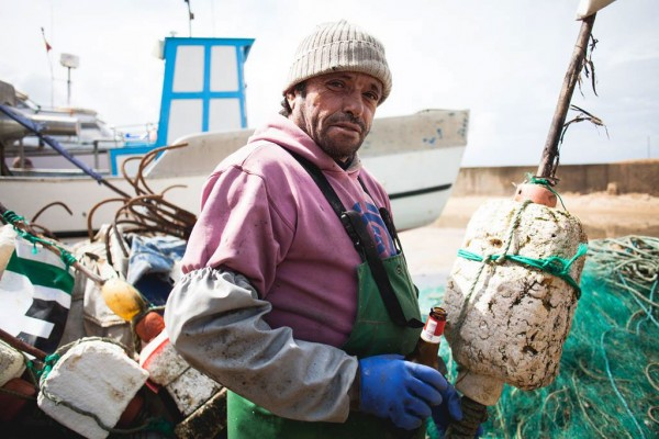 Pescador Tó Toboz - ph. Márcio Barreira