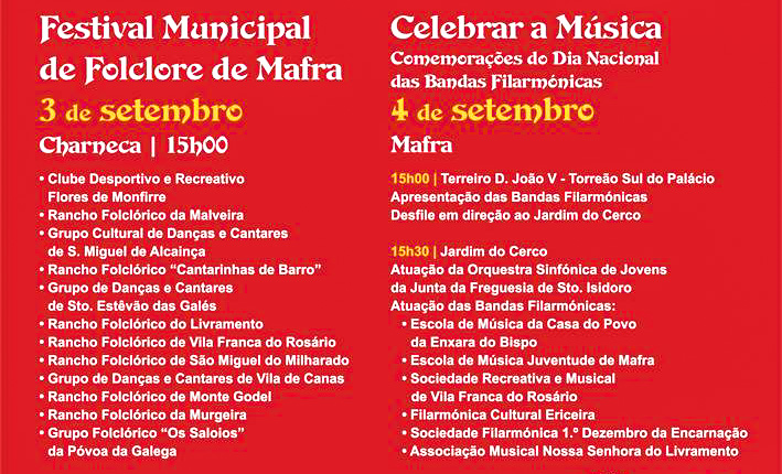 Celebração do Associativismo Cultural - ph: Câmara Municipal de Mafra