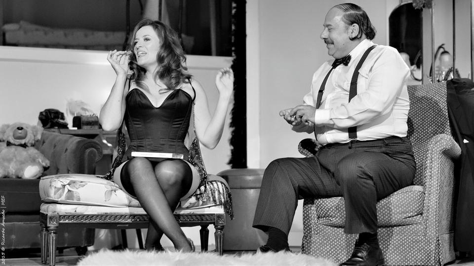 Em acção dramática na peça Clarabóia, de José Saramago.