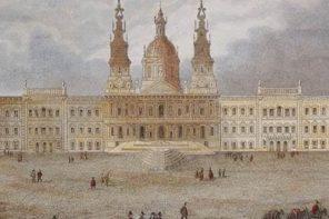 Apresentação da maquete do Palácio de Mafra
