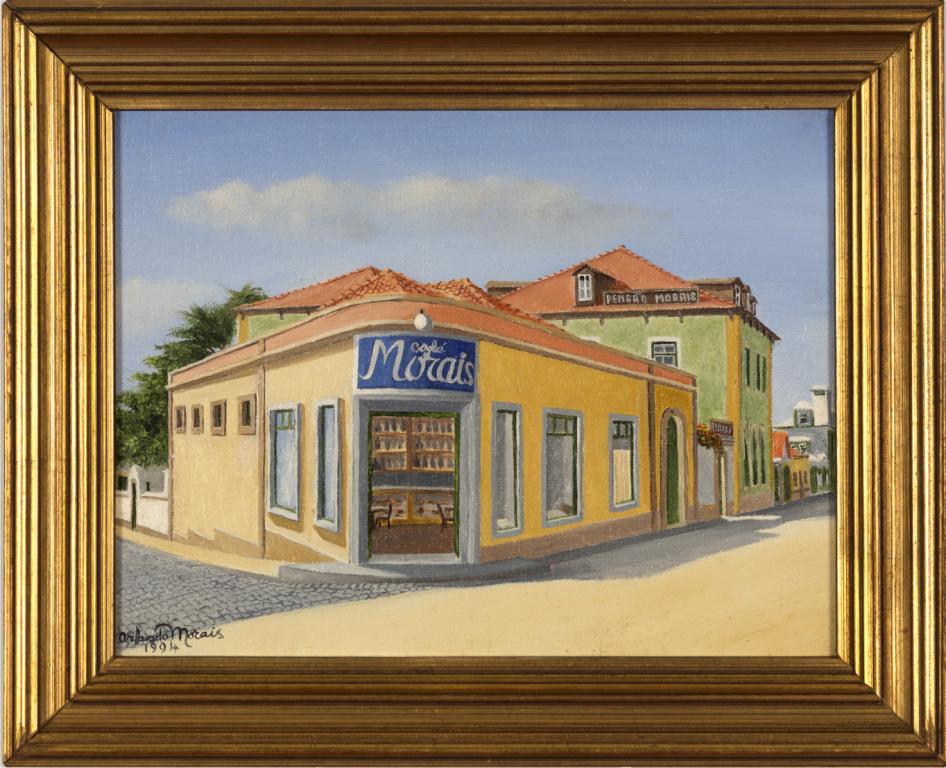 """Antiga Pensão e Café Morais"""", por Orlando Morais"""