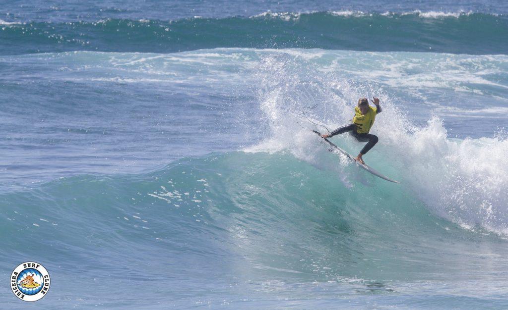 Martim Carrasco atingiu duas finais da prova.