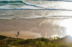 """Limpeza de praia da Foz do Lizandro para """"Um Oceano em Mudança"""""""