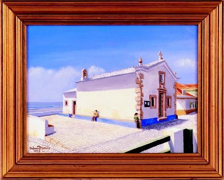Capela dr Santo António - Obra Orlando Morais