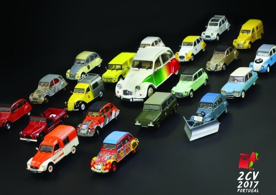 Citroën 2CV Miniaturas - ph: DR