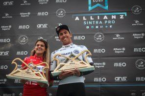 Carol Henrique e Vasco Ribeiro aceleram no Allianz Sintra Pro